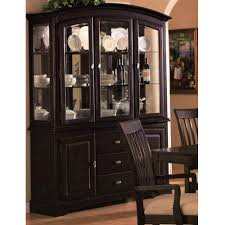 Sunrise China Cabinet Cappuccino Formal Dining 100184 Coaster