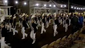West Chester Halloween Parade 2014 by Downingtown High Marching Band 10 02 2015 New Holland