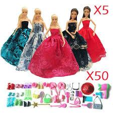 How To Make Barbie Doll Long Dress