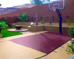 Decoration : Easy The Eye Backyard Basketball Courts And Home ... Outdoor Courts For Sport Backyard Basketball Court Gym Floors 6 Reasons To Install A Synlawn Design Enchanting Flooring Backyards Winsome Surfaces And Paint 50 Quecasita Download Cost Garden Splendid A 123 Installation Large Patio Turned System Photo Album Fascating Paver Yard Decor Ideas Building The At The American Center Youtube With Images On And Commercial Facilities