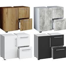 vcm bad unterschrank waschtisch waschbeckenunterschrank badunterschrank schrank möbel flandu 51 x 60 x 30 cm badezimmer regal