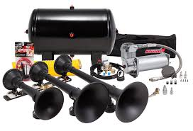 Kleinn Air Horns HK9 Pro Blaster Triple Train Horn Kit | EBay Philippines 4 Trumpet Vehicle Air Horn 12v24v Compressor Tubing Hornblasters Jackass 228v Kit Best Rated In Horns Helpful Customer Reviews Amazoncom Universal Fourtrumpet Air Train Horn For Cartruckboat Kleinn Pro Blaster Train Kits Hella Dual 24v Autoelec Warehouse Online Shop 12v Car Boat Truck 178db Tone Complete System With Compressor Tank And New Chrome W 150 Psi 3 Liter Malaysia Loud Easy To Fit Tech 12v Truck Youtube