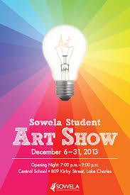 Sowela Art Show Poster On Behance