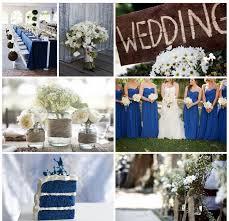 Rustic Royal Blue Wedding