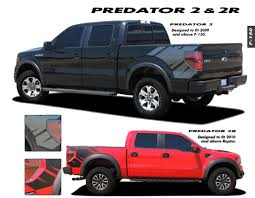 100 Ford Truck Decals Product F150 Raptor Graphics Trim Emblems Kit PREDATOR