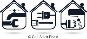 Home maintenance Clipart and Stock Illustrations 6 155 Home