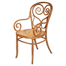 Thonet Bentwood Chair Cane Seat by Thonet Bentwood Armchair Armchairs Austria And Wood Furniture