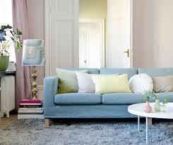 3 Seat Sofa Cover by Karlanda 3 Seater Sofa Cover In Mineral Blue Tegnér Melange