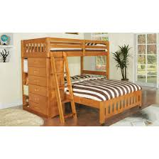 Twin Captains Bed With 6 Drawers by One Honey Twin Full Loft Bed And One 6 Drawer Entertainment Dresser