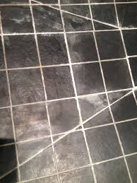 cleaning slate shower tiles