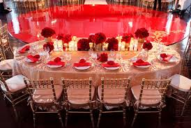 Wedding Reception Floor Decorations Red Gold Eye Candy Galore Maharani Weddings