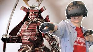 virtual reality samurai simulator death vr htc vive