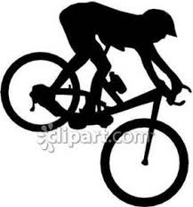 Pin Mountain Man Riding Bike Clip Art On Pinterest