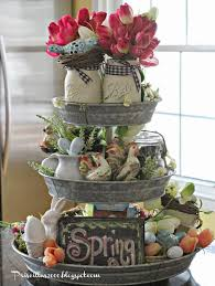 Primitive Easter Decor Canister Set by Good Morning It U0027s Time For The Spring Version Of The Galvanized