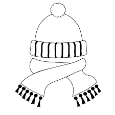Clothes Coloring Pages Winter Clothing Page And Within To Print Preschool