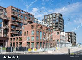 100 Contemporary Housing Amsterdam Netherlands August 31 2019 Stock