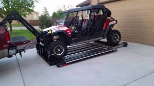Hydraulic UTV Deck / Tufflift.net 208 661 3100 - YouTube Diy Atv Lawnmwer Loading Ramps Youtube The Best Pickup Truck Ramp Ever Madramps And Utv Transport Made Easy Four Wheeler Ramps For Lifted Trucks Truck Pictures Quad Load Hauling The 4 Wheeler In Bed Polaris Forum 1956 Ford C500 Cab Auto Art Cool Pinterest Atvs More Safely With By Longrampscom Demstration Of Haulmaster Motorcycle Lift Ramp Loading A Made Easy Loadall V3 Short Sureweld Wheel Riser Front Wheels Ramp Champ