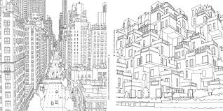 Coloring Page City Buildings And Architecture 7
