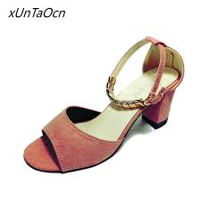 online get cheap pink suede heels aliexpress com alibaba group