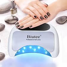 professional nail gel uv l biutee professional 48w led uv l nail dryer for nail gel