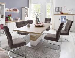 mca furniture bank talena gestell flachrohr edelstahl gebürstet und bezugfarbe wählbar stuhl für ihr esszimmer