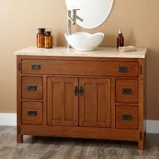 Small Trough Bathroom Sink With Two Faucets by Bathroom Vanities Fabulous Everett White Vanity Vessel Bathroom