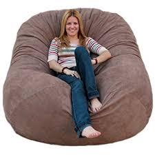 Cozy Sack 6 Feet Bean Bag Chair Large Earth