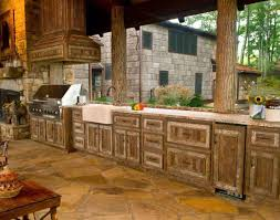 Sink Outdoor Kitchen Modules For Sale Outside Units Inserts Shining Rustic Style Sinks Glorious Decor