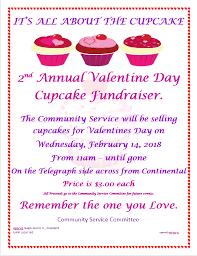 2nd Annual Valentine Day Cupcake Fundraiser