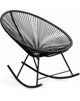 Innit Acapulco Rocking Chair by Deal Alert Black Outdoor Rocking Chairs