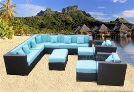 Outdoor Sectional Sofa Set by Eurolounger Outdoor Wicker Sectional Sofa Patio Furniture