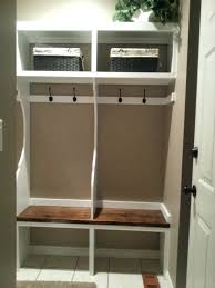 Mudroom Storage Bench With Coat Hooks Mudroom Storage Bench With Hooks White Wooden Mudroom Lockers Ikea With Shelves And 4 Hooks For Home Furniture Ideas