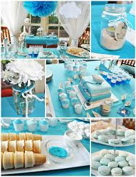 paper boat birthday party with lots of really cute ideas parties