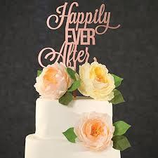 Cake Wedding Topper Rose Gold