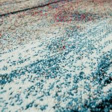 wohnzimmer teppich bunt abstraktes design 3 d muster robust