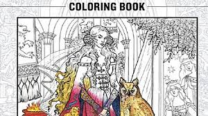 Coloring Book Games Y8 There S Now A Game Of Thrones Books