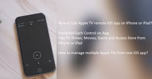 How to use Apple TV remote app – iPhone iPad Features