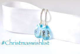 Luxury Sky Blue Topaz Earrings