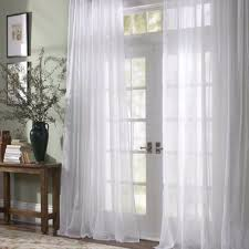 Kohls Tension Curtain Rods by Surprising Design Ideas Voile Sheer Curtains 13 Best Images About