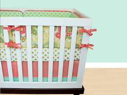 Coral And Mint Baby Bedding by Polka Dot Crib Bedding Ktactical Decoration