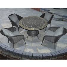 Lowes Canada Patio Furniture by Patio Flare Pf Ds218 S Luxe 5 Piece Dining Set Lowe U0027s Canada