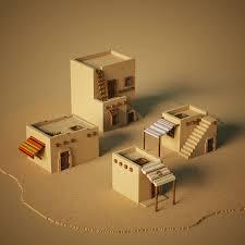 100 Desert House Some Desert Houses 3Dmodeling