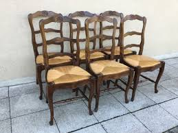 Antique French Set Of Six Oak & Rush Ladder Back Dining Chairs Louis ... Guy Chaddock Melrose Custom Handmade Fniture Cf0485s Country French Ding Chairs With Ladder Back And Rush Seats Antique Farm Carved Tall Seat Room Set Of 6 Provincial In Walnut 10 Louis Xv Style Oak Leather Nailhead Recliner Chair Vintage White Of Four Six Xiv Ladderback Scalloped Stretchers Inspire Q Eleanor Wood 2 By Dec 16 2018