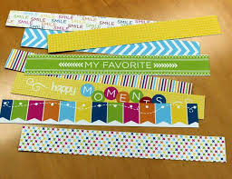 Cut Them Apart And You Will Get 8 Individual 15 Inch Border Strips I Just Love How Colorful They Are Can Use On Plain White Refill Pages Or Jazz