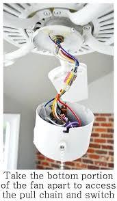ceiling fan pull chain light switch wiring diagram l zipper