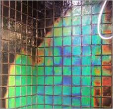 heat sensitive bathroom tiles image of sea glass tile heat