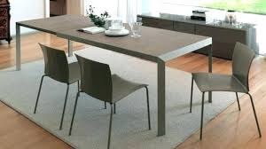 Expandable Dining Room Tables Space Saving
