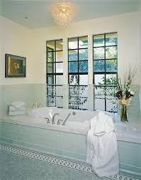 Light Blue Subway Tile light blue subway tile bathroom contemporary with ceiling lighting