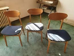 esszimmer stühle 60er 70er jahre