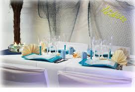 décorations de tables et idées thème pour mariage anniversaire